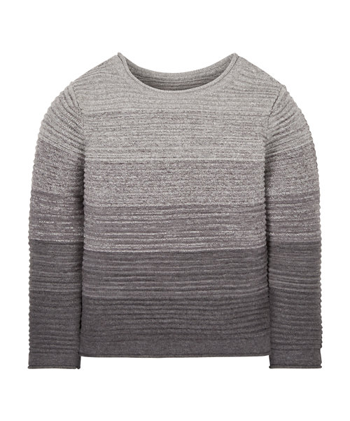 Grey Ombre Knit Jumper