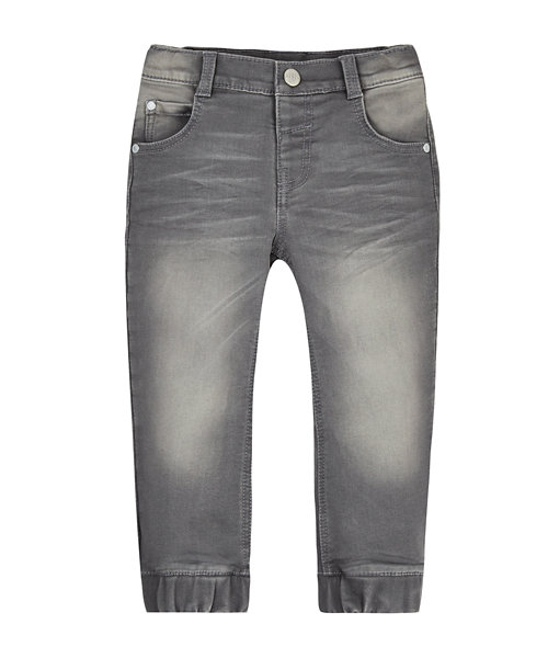 Grey Carrot Leg Jeans