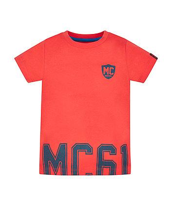 Red Mc Border T-Shirt