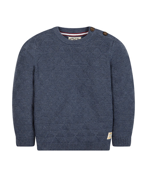 Crew Neck Knitted Jumper