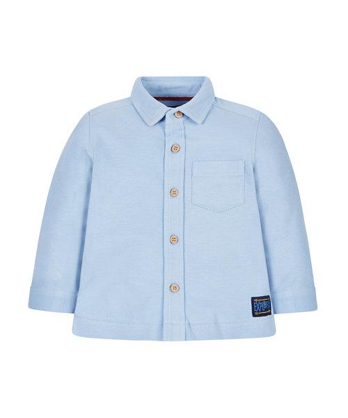 Blue Pique Shirt