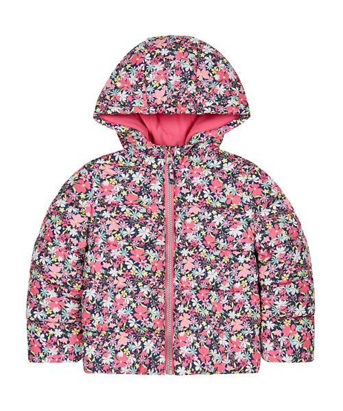 Floral Padded Coat
