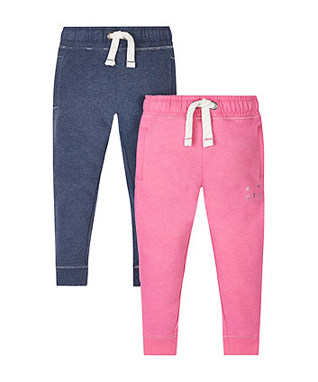 Pink And Navy Joggers - 2 Pack
