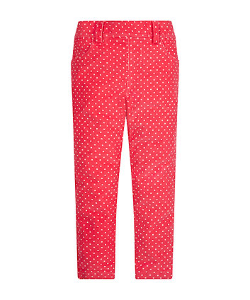 Spotty Cord Trousers