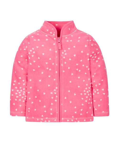 Pink Heartfleece