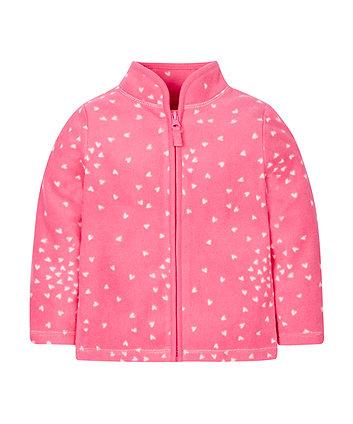 Pink Heartfleece