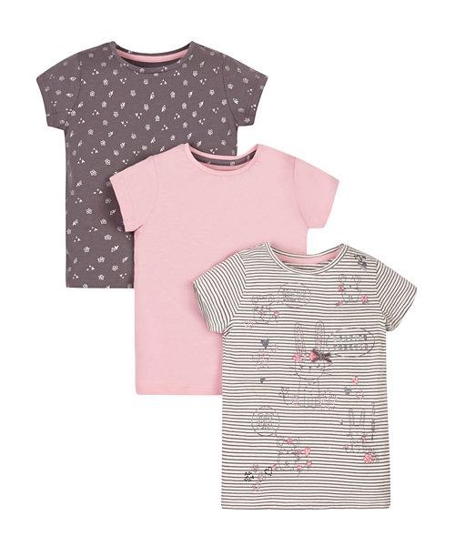Explorer T-Shirts - 3 Pack