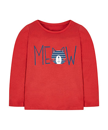 Red Meow T-Shirt