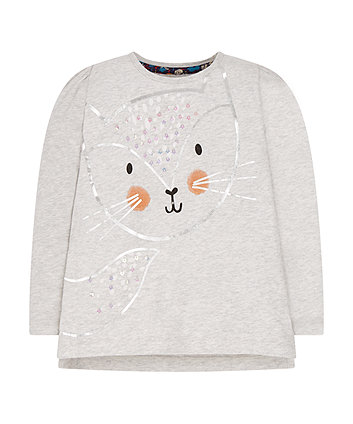 Sequin Fox T-Shirt