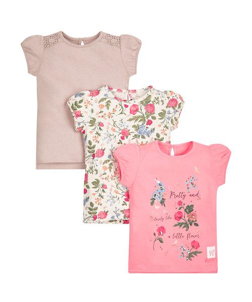 Floral Tops - 3 Pack