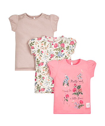 Floral Tops - 3 Pack