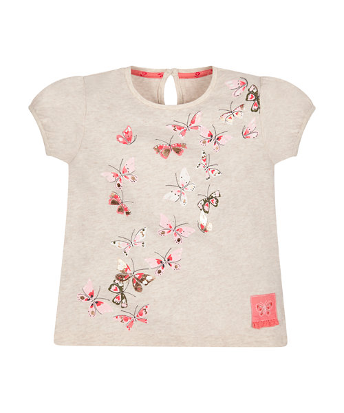 Scattered Butterfly Top