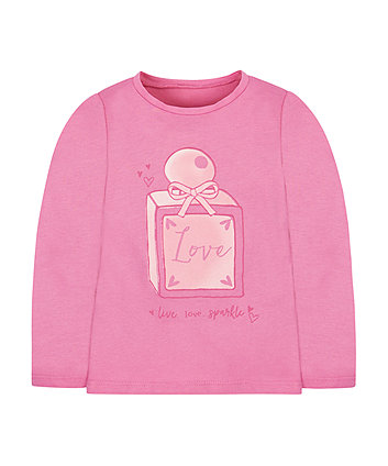 Pink Perfume Bottle T-Shirt