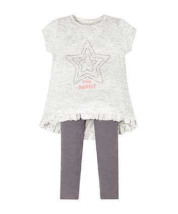 Star Tunic And Legging Set
