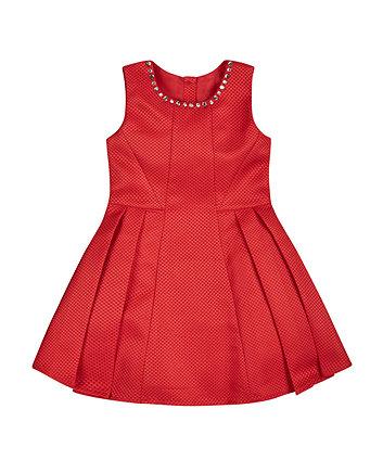 Red Jewel Dress