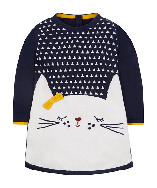 knitted cat dress