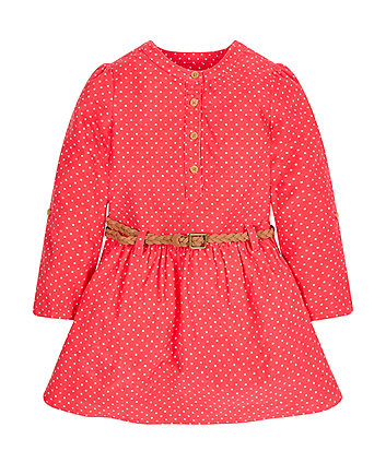 Spotty Cord Dress
