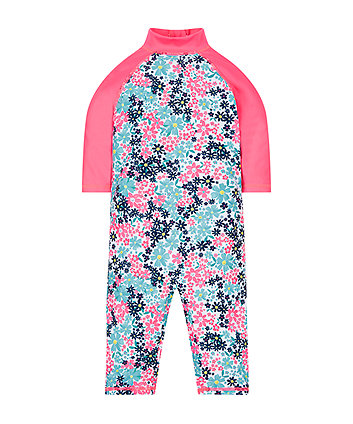Pink Floral Sunsafe