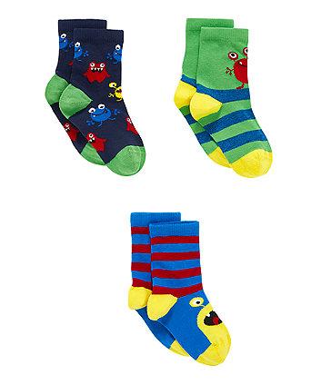 Alien Socks - 3 Pack