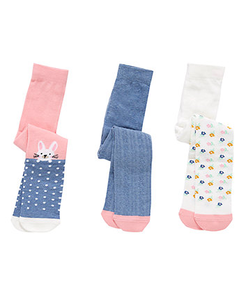 Bunny Tights - 3 Pack