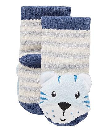 Tiger Rattle Socks