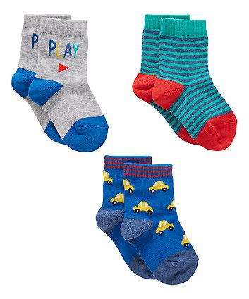 Transport Socks - 3 Pack