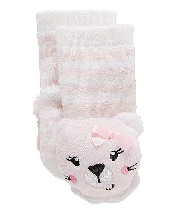 Cat Rattle Socks
