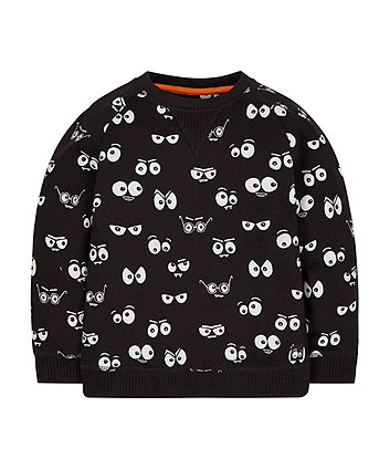 Spooky Eyes Sweat Top