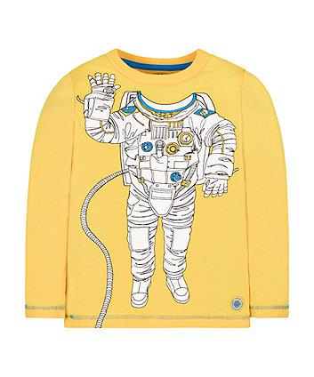 Yellow Astronaut Body T-Shirt