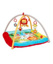 Mothercare My First Baby Safari Lights And Sounds Play Mat