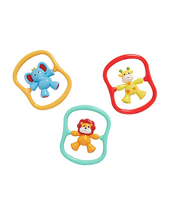 Mothercare Baby Safari Spinner Rattle