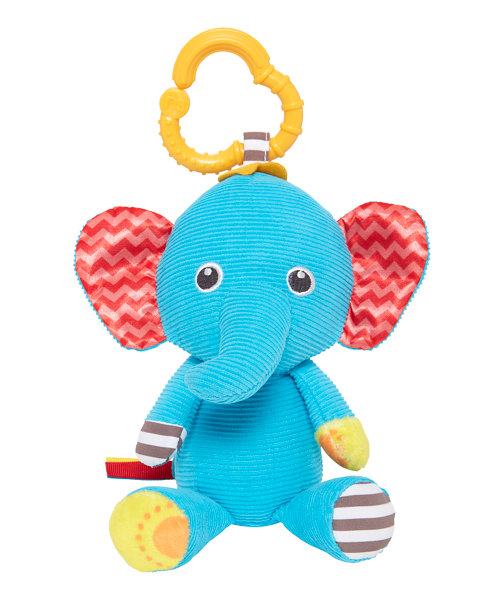 Mothercare Baby Safari Soft Toy - Elephant