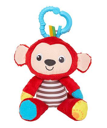 Mothercare Baby Safari Soft Toy - Monkey