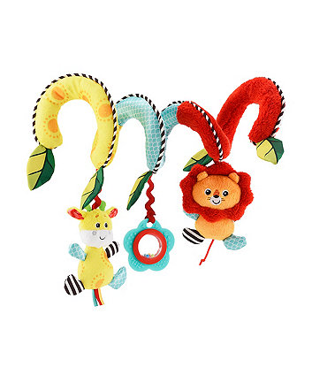 Mothercare Baby Safari Spiral Activity Toy