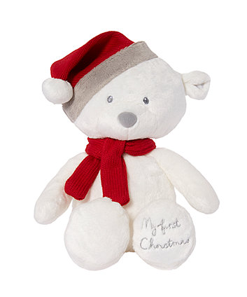 Mothercare My First Christmas Bear