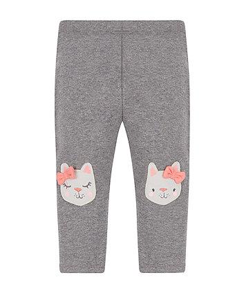 Grey Kitten Leggings