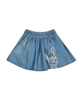 Denim Bunny Skirt