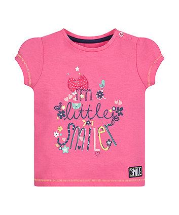 Pink Little Smiler T-Shirt