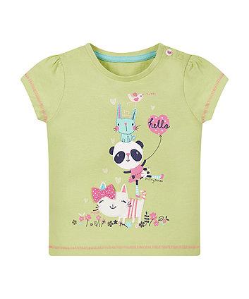 Panda Lime T-Shirt