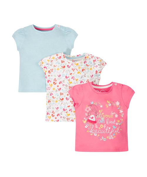 Beautiful T-Shirts - 3 Pack
