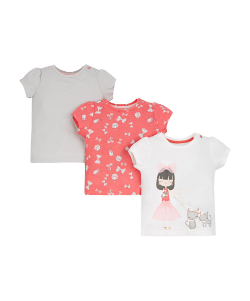 Pretty Little T-Shirts - 3 Pack