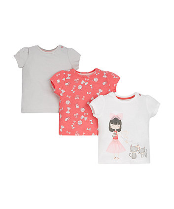Pretty Little T-Shirts - 3 Pack