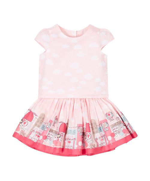 Cloud T-Shirt And Skirt Set