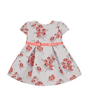 Poppy Jacquard Dress -(6-9 months)