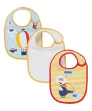 mothercare fly away bibs - 3 pack