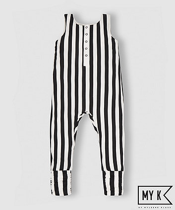 My K Stripe Jumpsuit