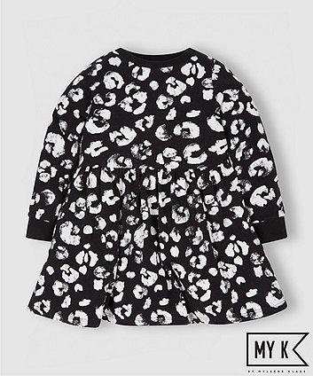 My K Leopard Print Jersey Dress