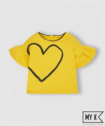 My K Yellow Heart T-Shirt