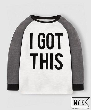 My K Got This Raglan T-Shirt