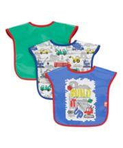 Mothercare Build It Up Toddler Bibs - 3 Pack